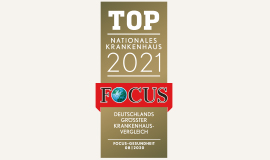 FOCUS TOP Nationales Krankenhaus 2021
