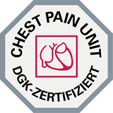 Chest Pain Unit DGK zertifiziert